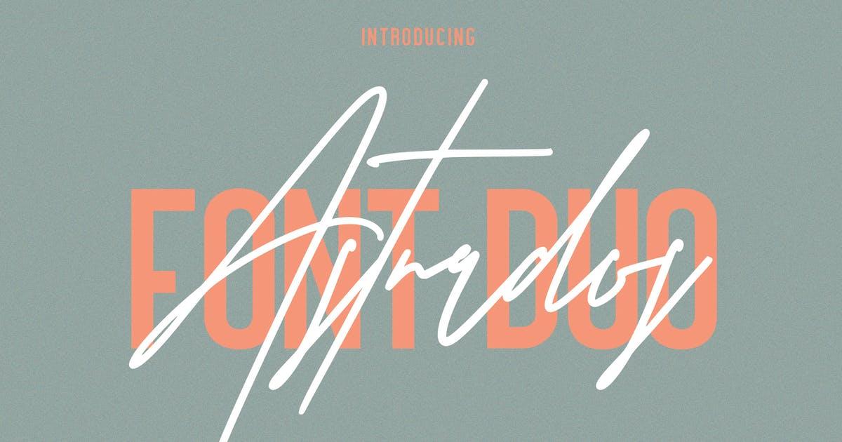 Download Astrados Signature Font Duo Free Sans by maulanacreative