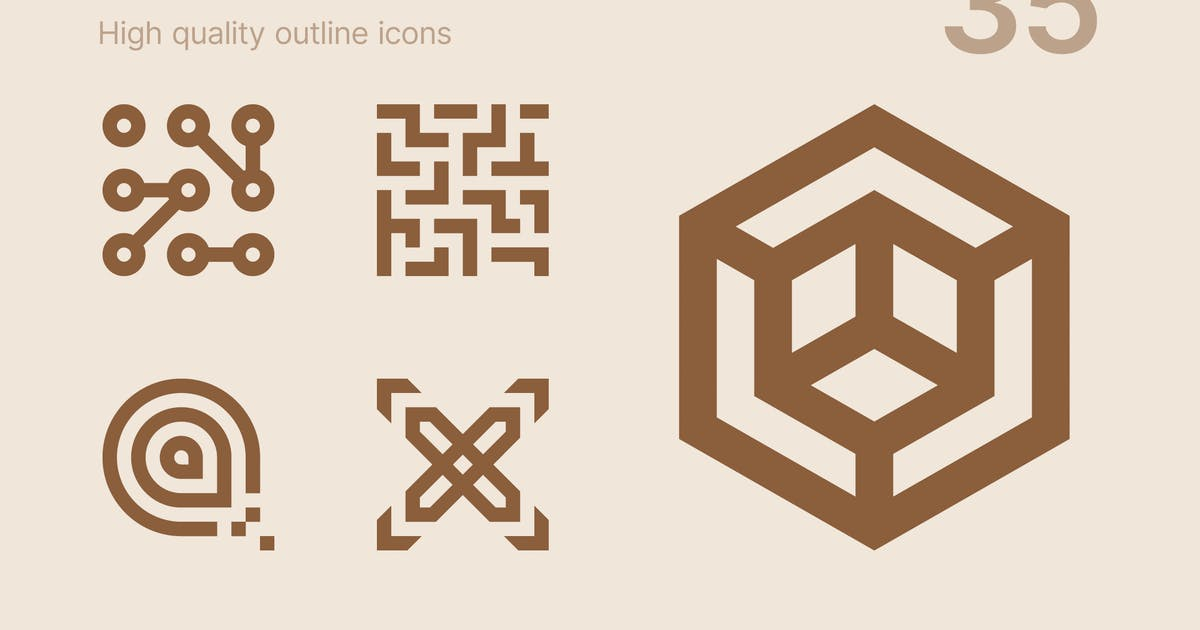 Download Abstract icons #2 by polshindanil