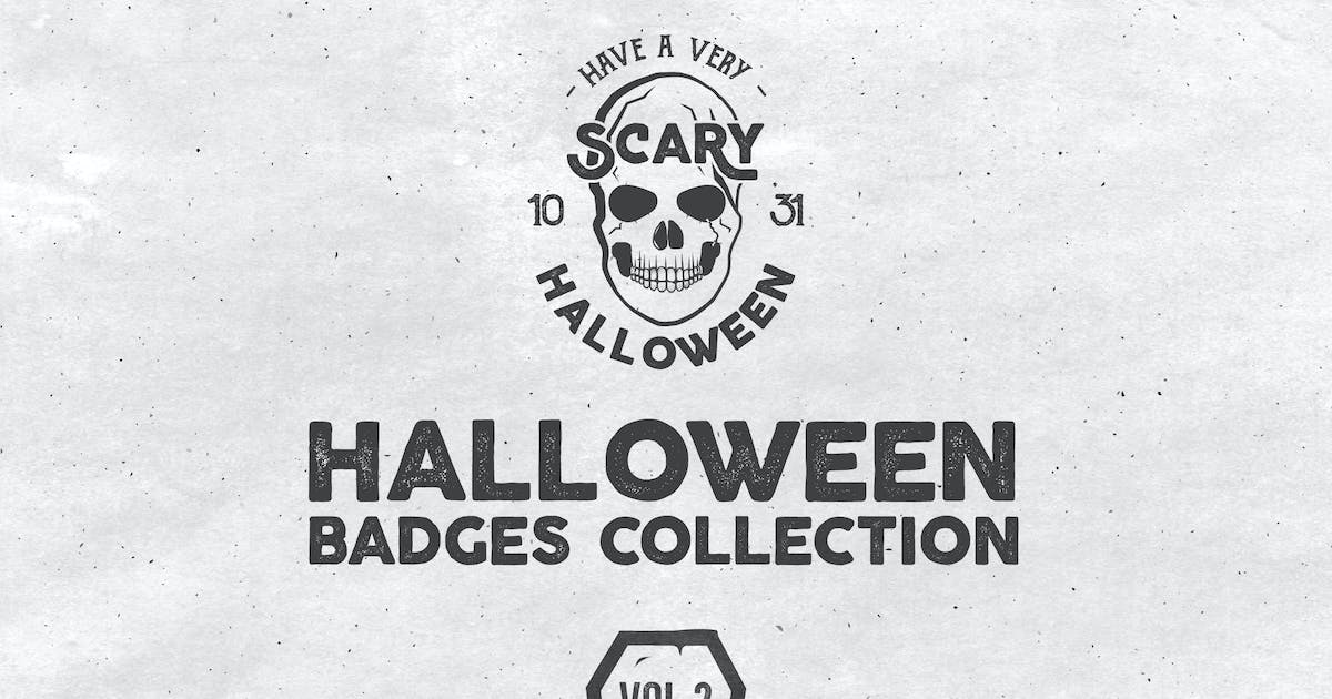 Download Halloween Badges Set. Vol.2 by Unknow