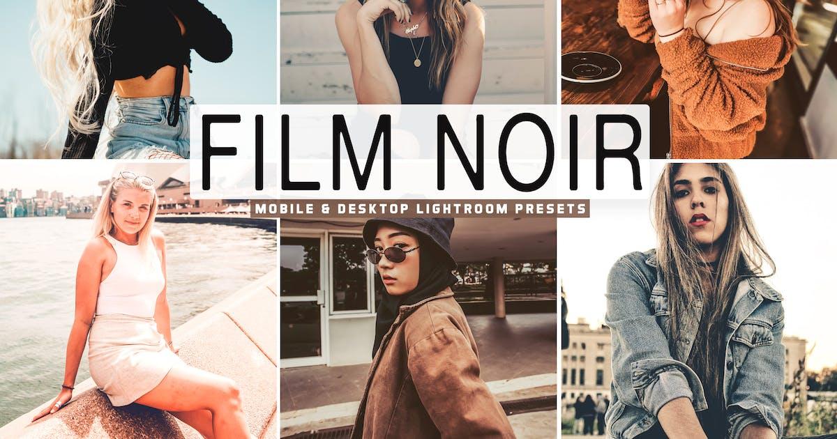 Download Film Noir Mobile & Desktop Lightroom Presets by creativetacos