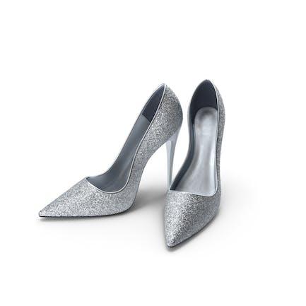 Женская обувь Серебряный