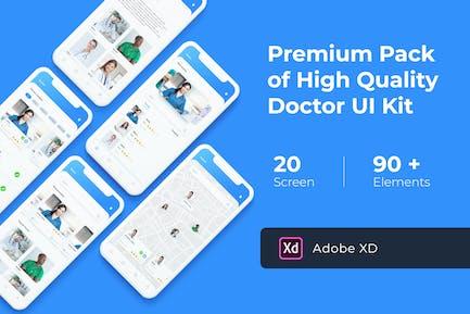 Doctor App UI KIT for XD