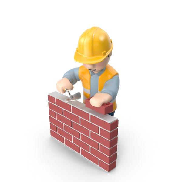 Thumbnail for Arbeiter mit Ziegeln