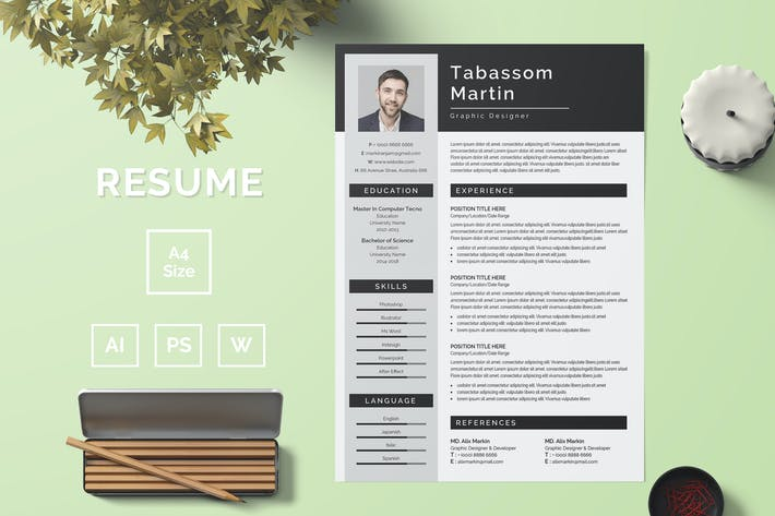 Thumbnail for Resume Template 51