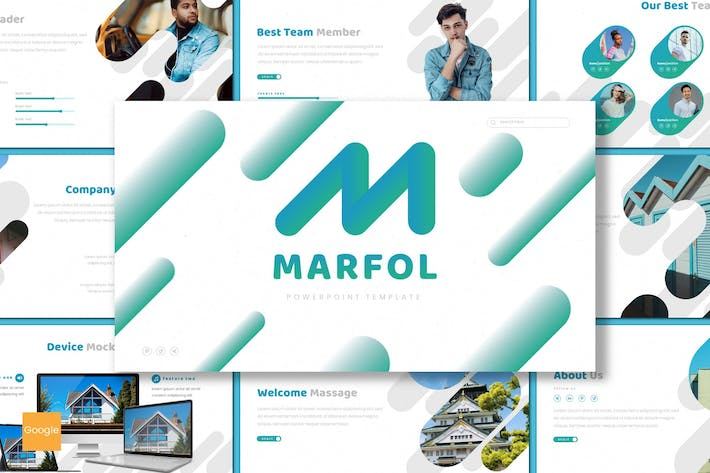 Thumbnail for Marfol - Google Slides Template