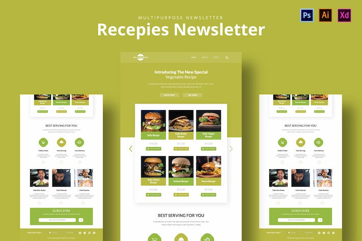 Thumbnail for Recepies Newsletter