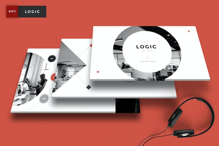 Thumbnail for Logic - Pitch Deck PowerPoint Template