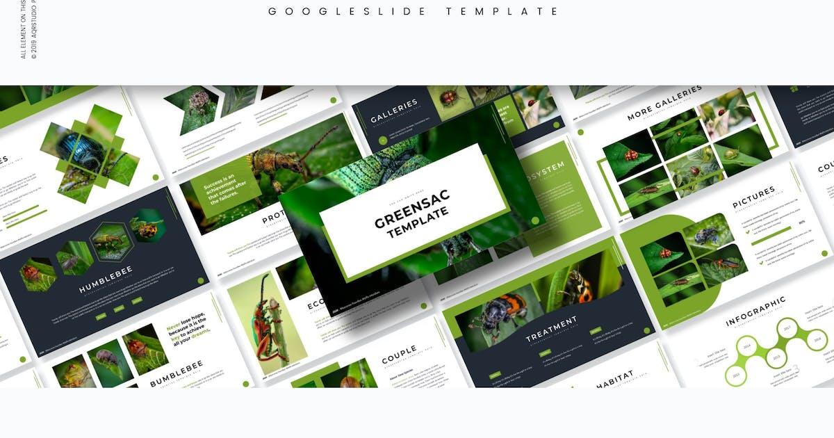 Download Greensac - Google Slides Template by aqrstudio