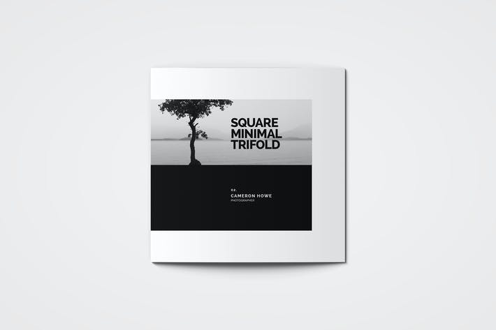 Thumbnail for Square Minimal Photography Trifold