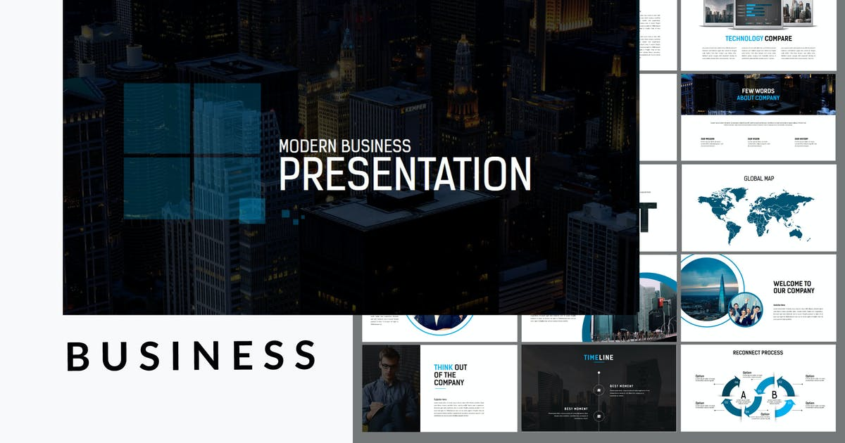 Download Business Presentation 100+ Keynote Template by putra_khan