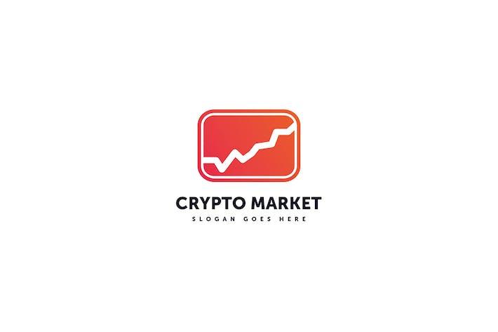 Thumbnail for Crypto Market Logo Template