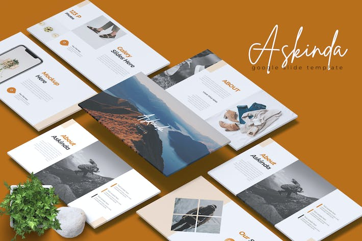 Thumbnail for ASKINDA - Creative Google Slides Template