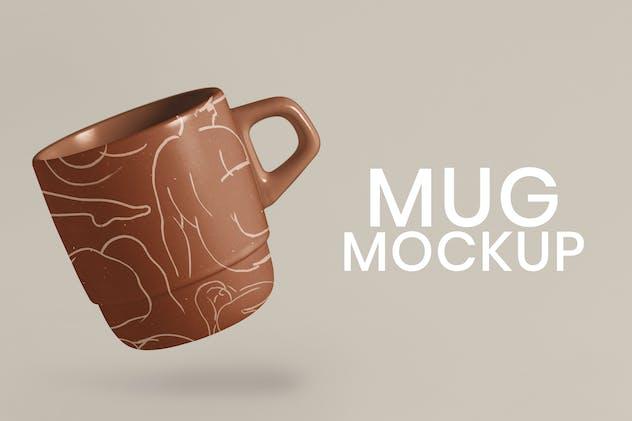 Terrazzo mug mockup