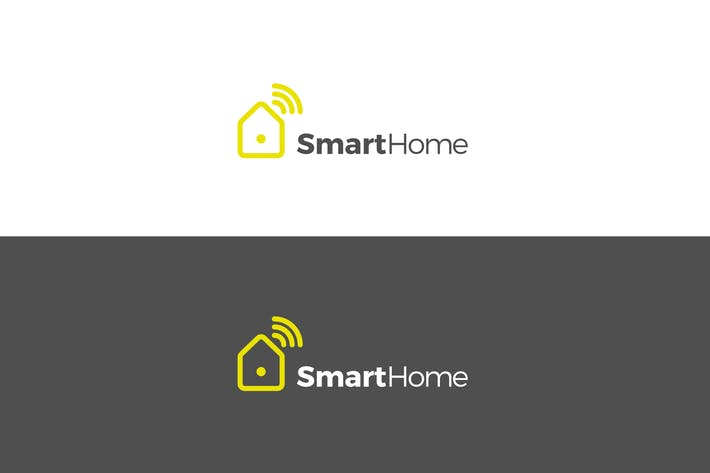 Thumbnail for Smart Home Logo Design