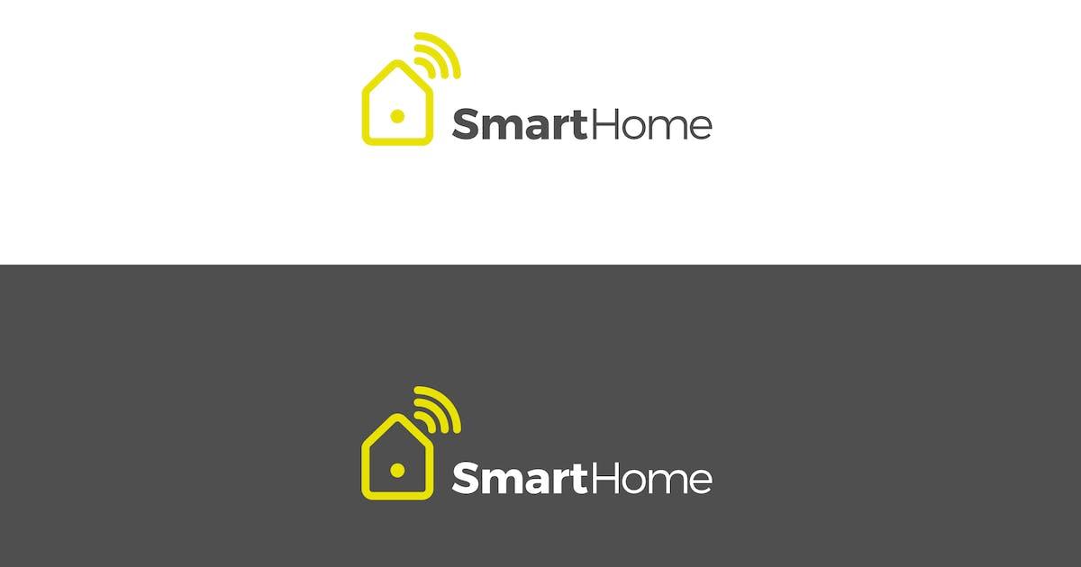 Download Smart Home Logo Design by EightonesixStudios