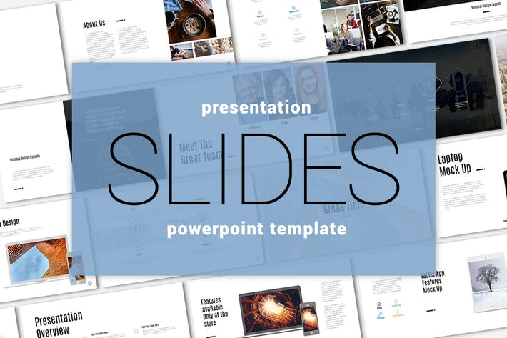 Thumbnail for Badru Powerpoint Template