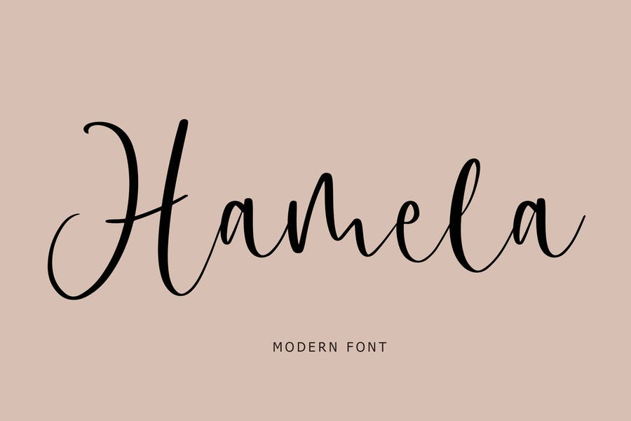 Hamela Modern Font