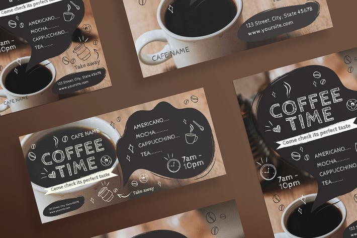Thumbnail for Coffee Cafe Flyer and Poster Template