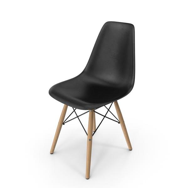 Moderno sillón de plástico moldeado