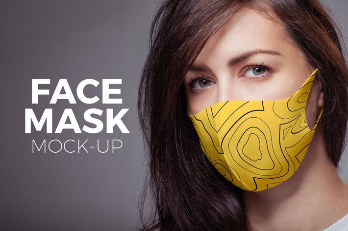 Thumbnail for Face Mask Mock-up