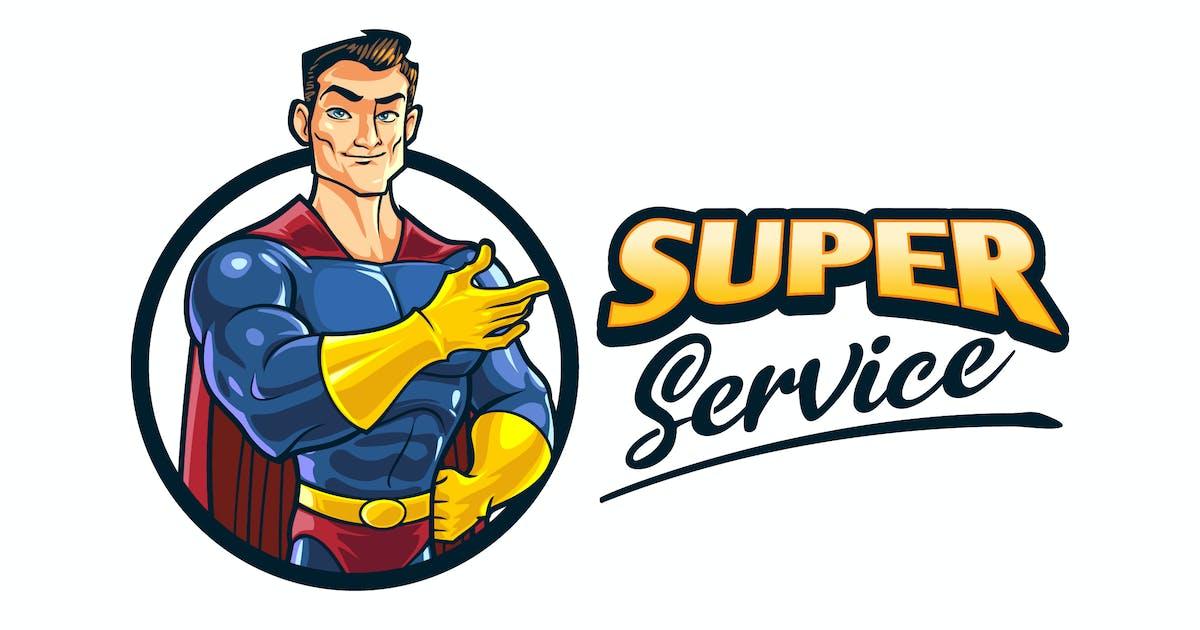 Download Cartoon Superhero Character Mascot Logo by Suhandi