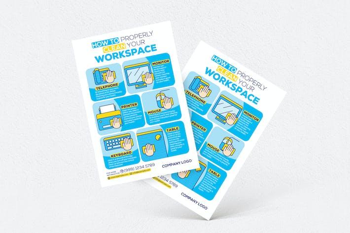 Thumbnail for Comment nettoyer correctement votre dépliant d'espace de travail