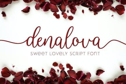 Denalova - Lovely Script