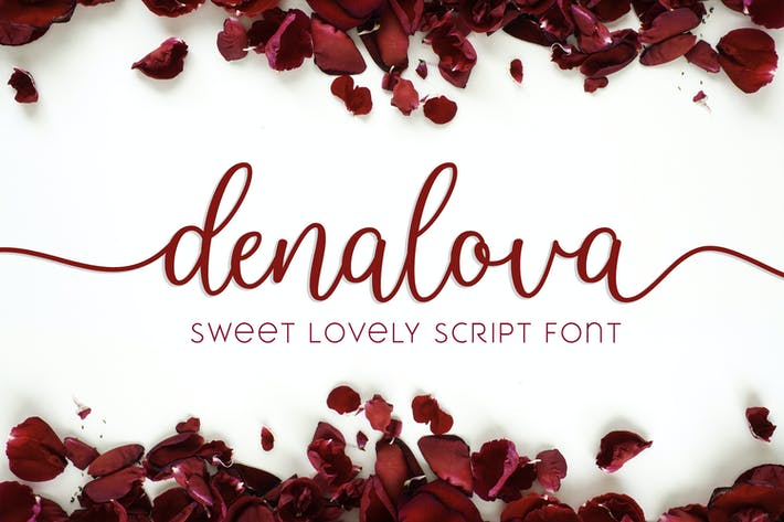 Thumbnail for Denalova - Lovely Script