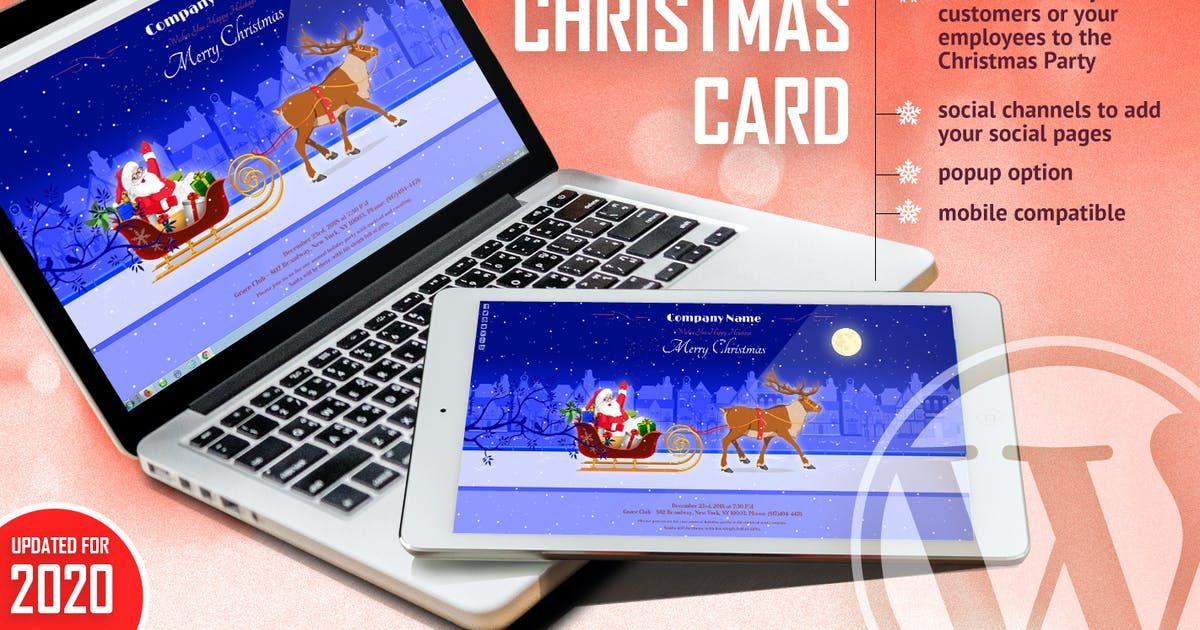Download Magic Christmas Card With Animation - WP Plugin by LambertGroup