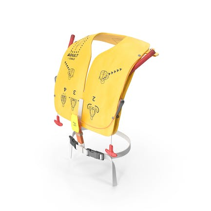 Aircraft Dual Cell Life Vest