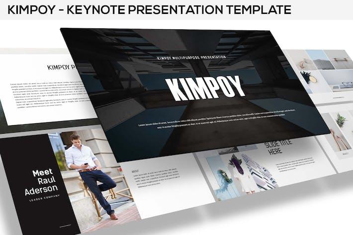 Thumbnail for Kimpoy - Keynote Template
