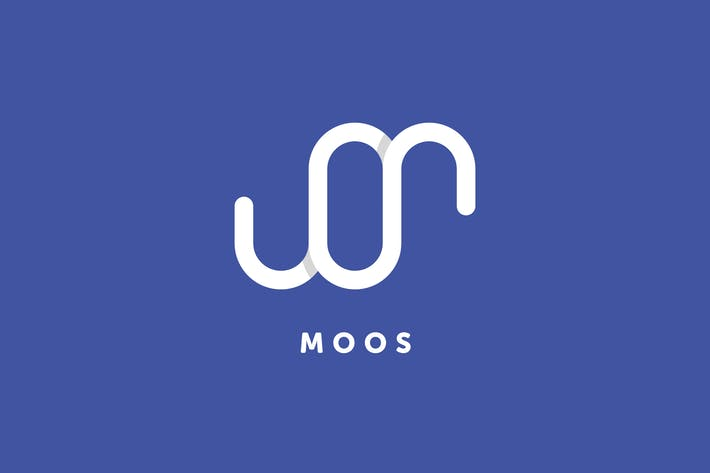 Thumbnail for Moos M+O Letter Logo Template