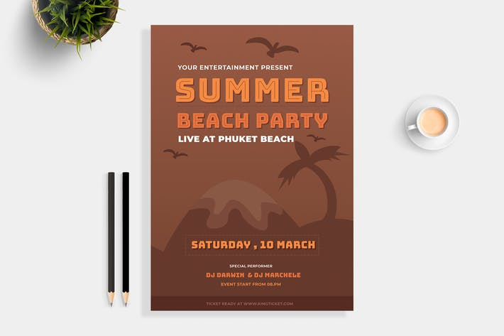 Cover Image For Summer Beach Party