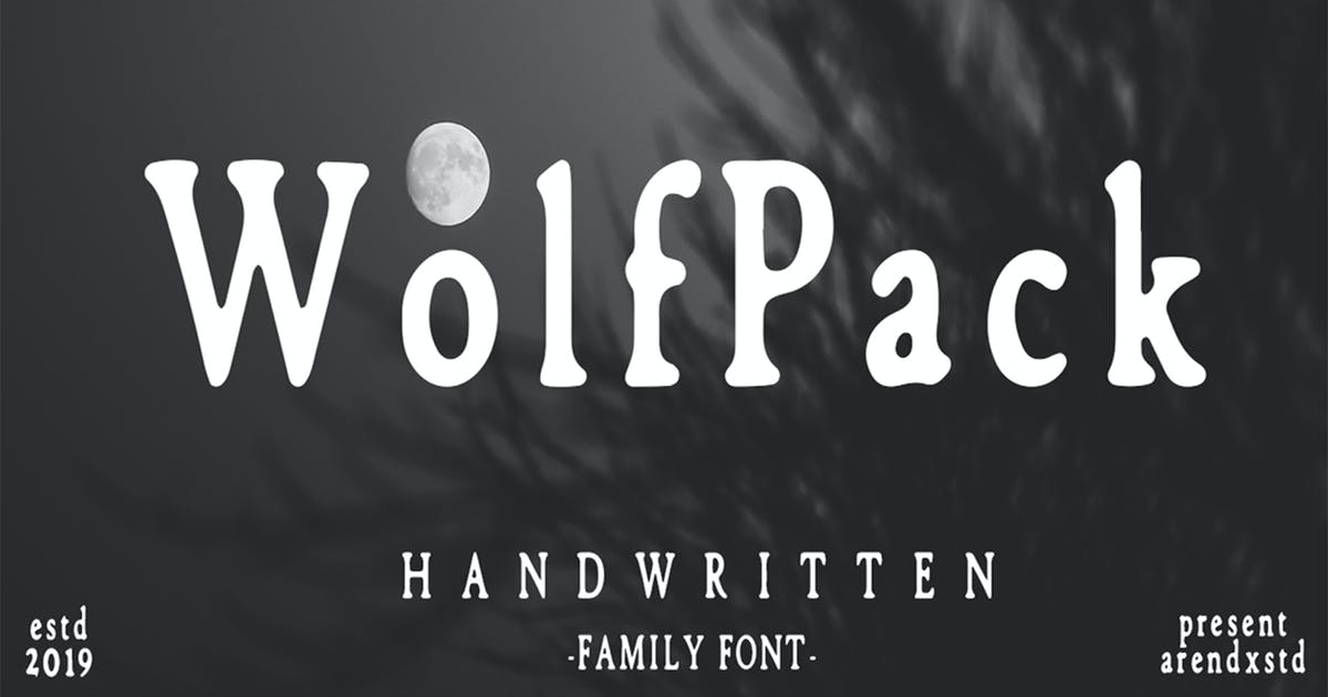Download Wolfpack Family Font by arendxstudio