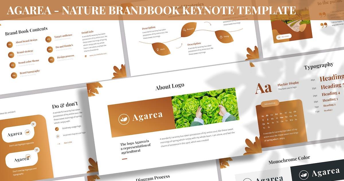 Download Agarea - Nature BrandBook Keynote Template by SlideFactory