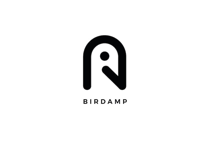 Thumbnail for Birdamp Logo A Letter Template