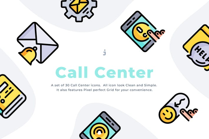 Thumbnail for 30 Call Center Icons
