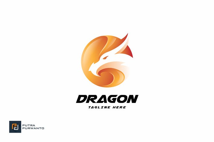 Thumbnail for Dragon - Logo Template