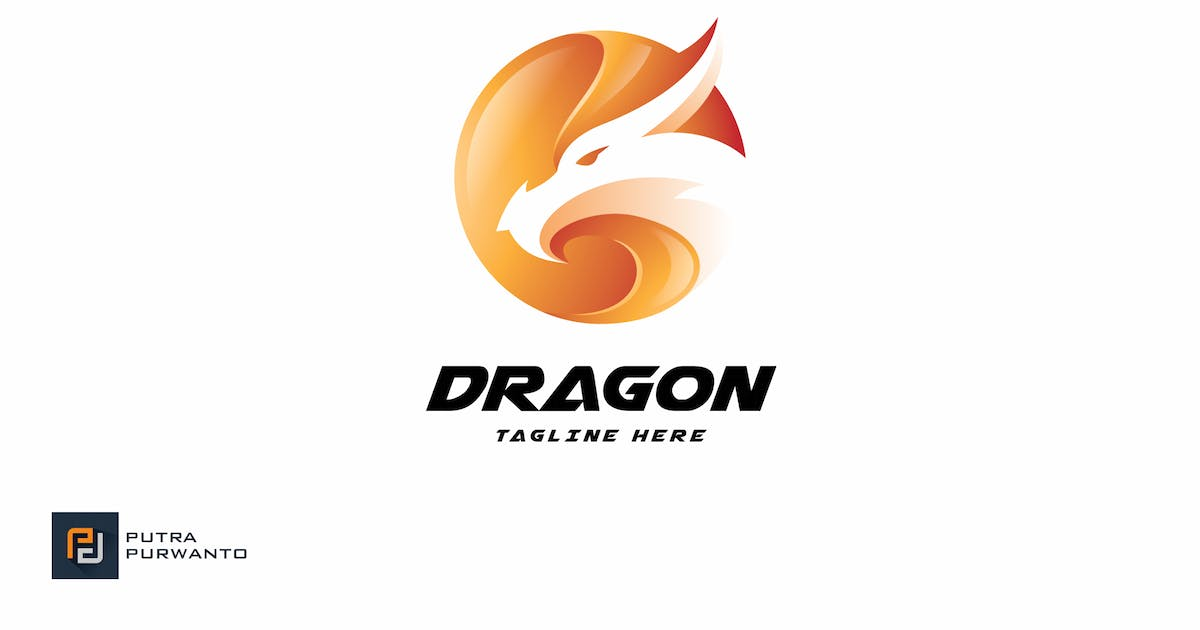 Download Dragon - Logo Template by putra_purwanto