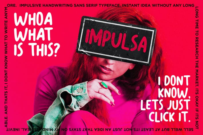 Thumbnail for Impulsa - Handwritten Bold