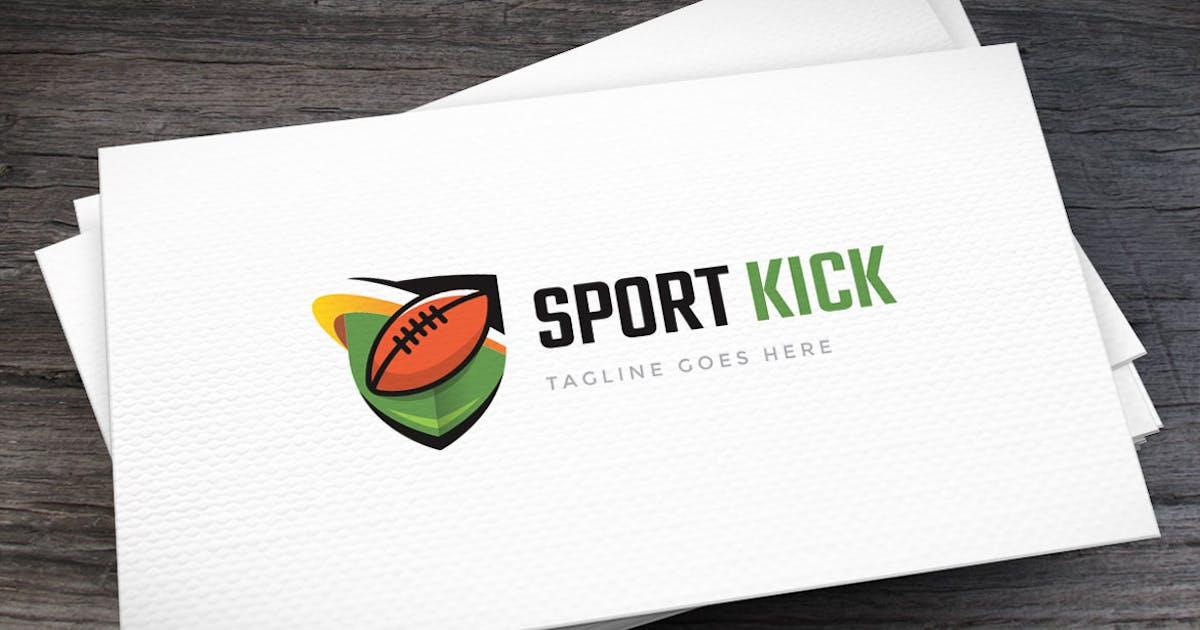 Sport Kick Logo Template by empativo