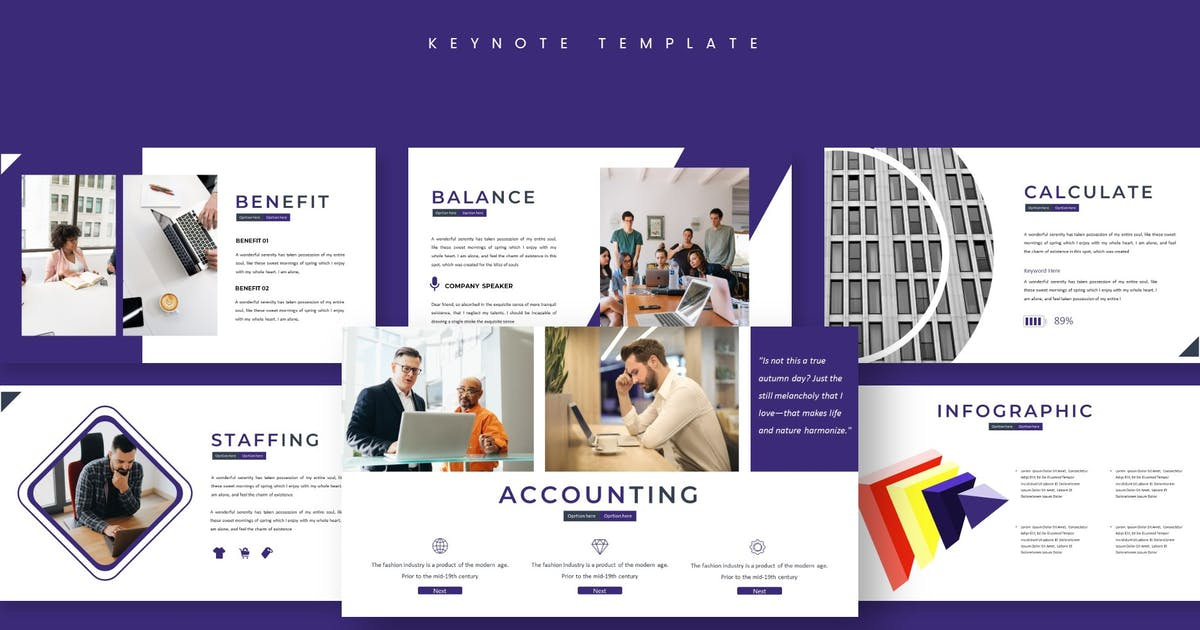Download Business - Keynote Template by aqrstudio