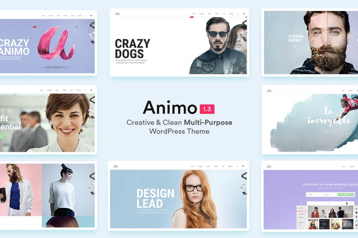 Thumbnail for Animo — Kreative & Saubere Mehrzweck WordPress T