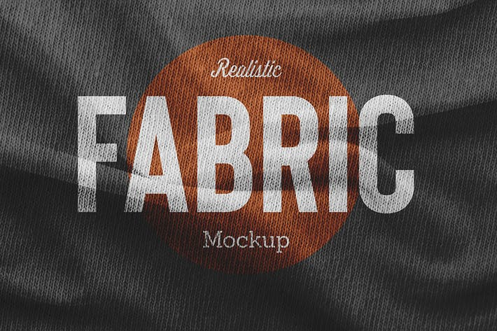 Cover Image For Fabric Mockup Vol.2