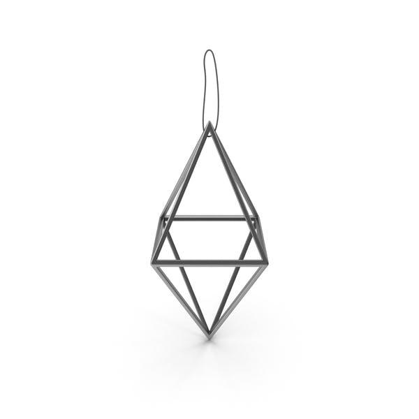 Thumbnail for Christmas Silver Diamond Ornament