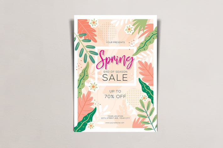 Thumbnail for Spring Sale Flyers