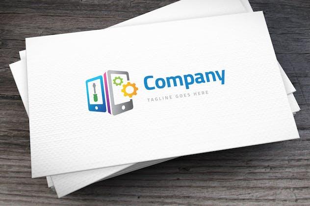 Mobile Repair Logo Template - product preview 2