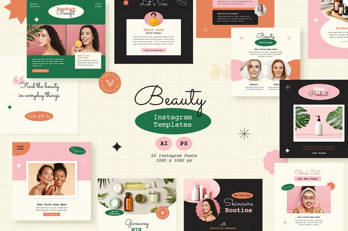 Beauty Instagram Templates