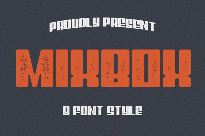 Thumbnail for 8 Font - MixBox Font Family