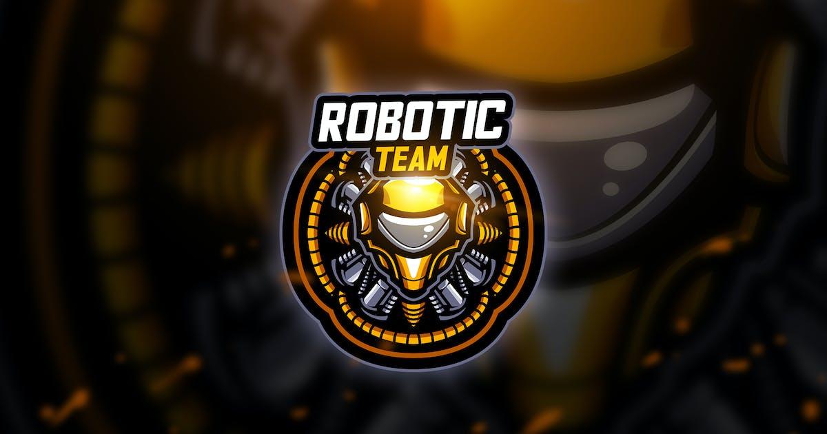 Robotic 3 - Mascot & Esport Logo by aqrstudio